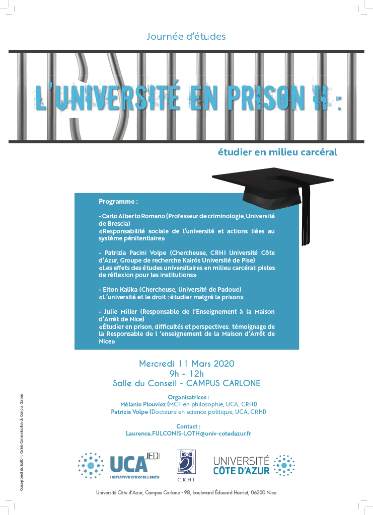 Affiche L'université en prison II