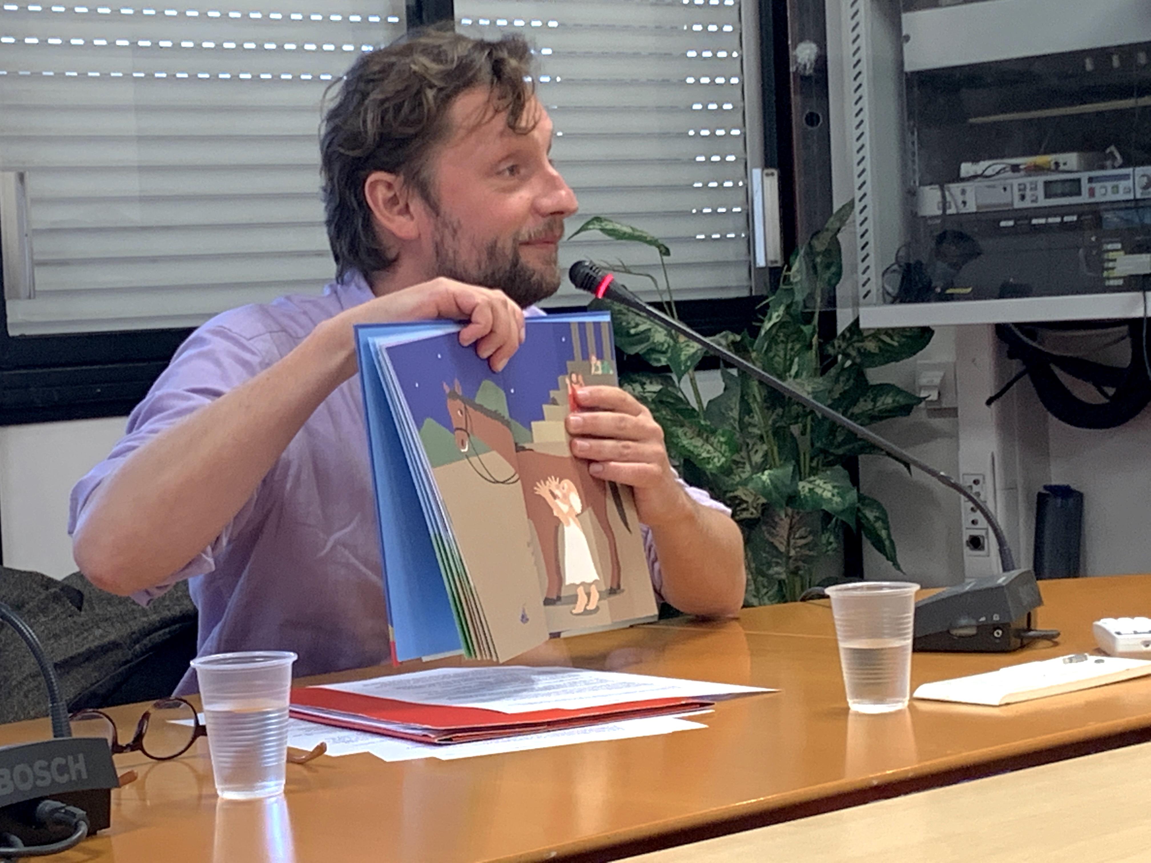 Photo conférence Mongin