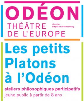 Affiche les petits Platons à l'Odéon